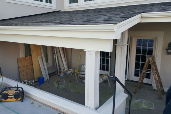 Covered Porches by Elegant Home Exterior