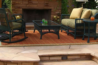 PATIOS & FIRE PITS