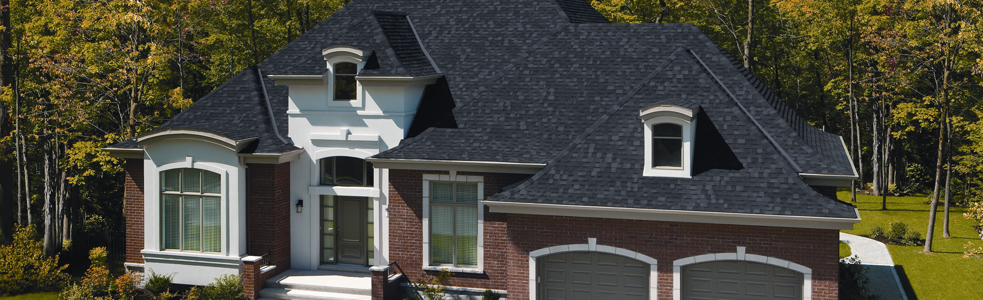 Roofing Services - Elegant Home Exterior