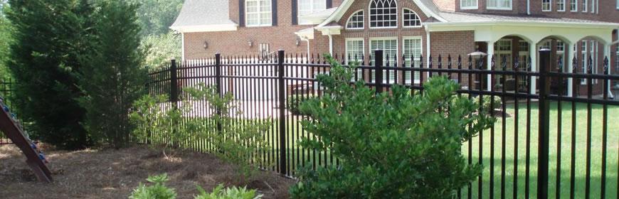 Fencing - Elegant Home Exterior