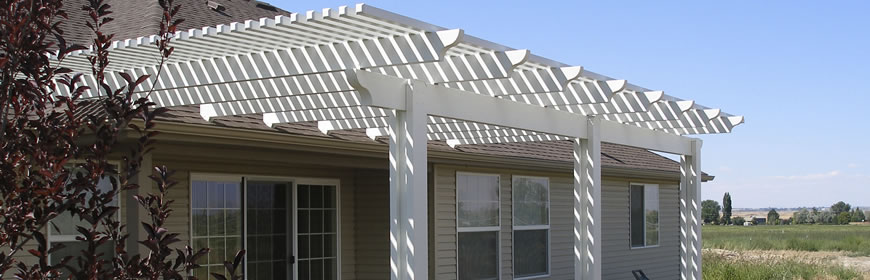 Patio Covers - Elegant Home Exterior