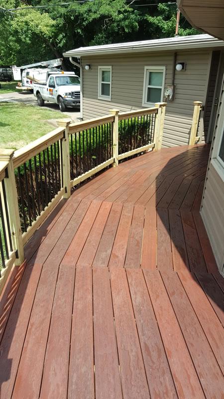 Decks Home Custom Decks Carpentry: Elegant Home Exterior